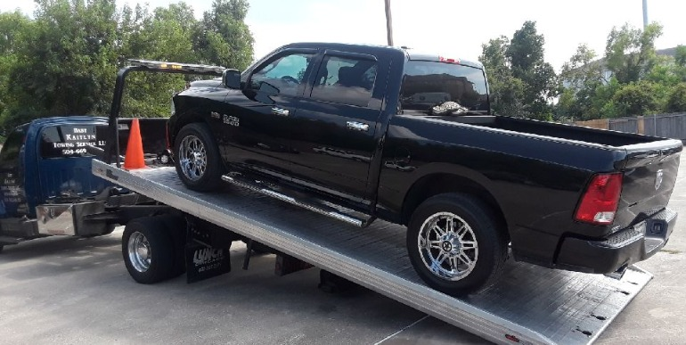 Truck on Tow Truck, Towing Service, New Orleans, LA